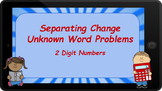 Google Classroom: Separating Change Unknown Word Problems (2 Digit)