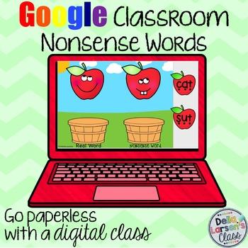 Google Classroom September Nonsense Words