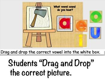 Google Classroom Short Vowel Sounds