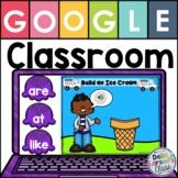 Google Classroom Sight Words - Build an Ice Cream