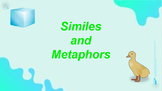 Google Classroom: Similes and Metaphors