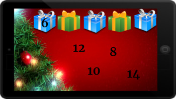Google Classroom: Skip Counting by 2s (2 Digit)- Christmas