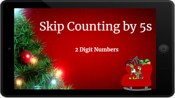 Google Classroom: Skip Counting by 5s (2 Digit)- Christmas