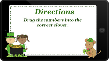 Google Classroom: Skip Counting by 5s- St. Patrick's Day