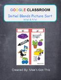 Google Classroom/Slides Initial Blends bl/pl & fl/sl
