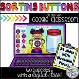 Google Classroom Sorting Buttons