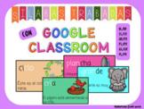 Google Classroom -Spanish- Sílabas trabadas