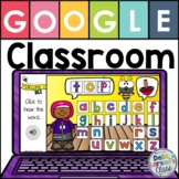 Google Classroom Spelling CVC Words with EASEL
