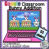 Google Classroom Spring Bunny Addition