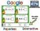 Google Classroom St Patrick's Day Math Practice