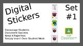 Google Classroom Sticker Collection #1