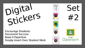Google Classroom Sticker Collection #2