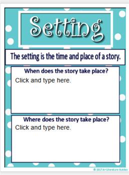 Google Classroom Story Elements Paperless Activities Digital Notebook Drive