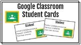 Google Classroom Student Cards