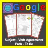 Google Subject Verb Agreement Independent Pack To Be