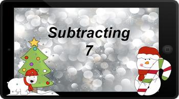 Google Classroom: Subtracting 7 - Winter