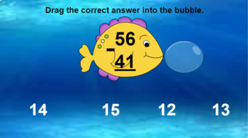 Google Classroom: Subtraction 2 Digit (No Regrouping)