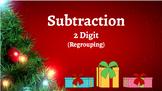 Google Classroom: Subtraction 2 Digit (Regrouping) - Christmas
