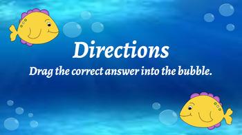 Google Classroom: Subtraction 3 Digit ( No Regrouping)- Fish