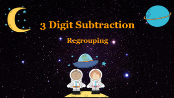 Google Classroom: Subtraction 3 Digit (Regrouping)