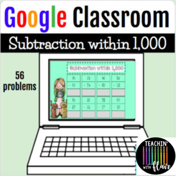 Google Classroom: Subtraction within 1,000