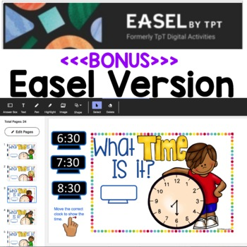 Google Classroom Telling Time