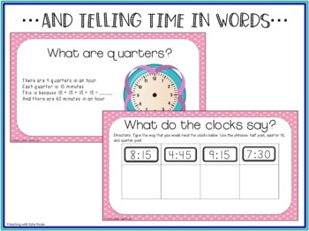 Digital Classroom: Telling Time