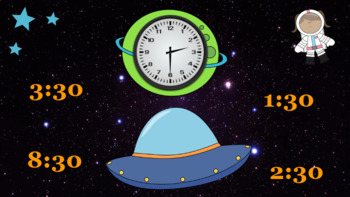 Google Classroom: Telling Time- Half Hour
