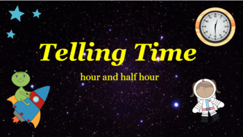 Google Classroom: Telling Time- Half Hour and Hour