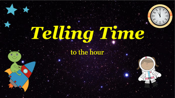 Google Classroom: Telling Time- Hour