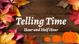 Google Classroom: Telling Time Hour and Half Hour