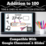 Google Classroom™ | Tens and Ones as an Addition Strategy