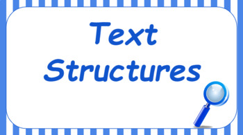 Google Classroom- Text Structure Interactive Activity