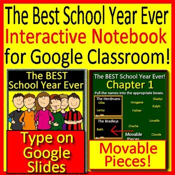 Google Classroom The BEST School Year Ever Digital Interactive Notebooks
