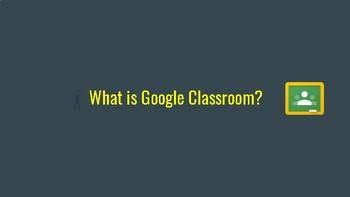 Google Classroom - The Basics
