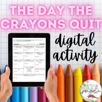 Google Classroom - The Day the Crayons Quit