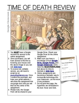 Google Classroom Time of Death Review