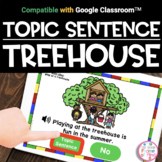 Google Classroom™ | Topic Sentences | Distance Learning