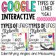 Google Classroom Types of Lines Bundle