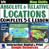Google Classroom | Types of Location Map Skills Lesson | D