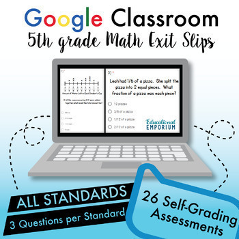 Ultimate Google Classroom™ Math Bundle ⭐ Interactive Digital Math ⭐ Grades 1-6