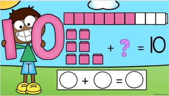 Google Classroom Unifix Number Bonds