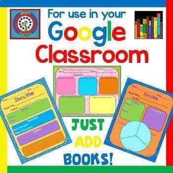 Google Classroom - Use With Any Story - Writing Activities