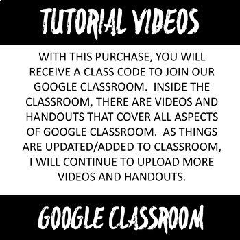 Google Classroom Videos