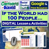 Google Classroom | What if the World had 100 People? Lesso