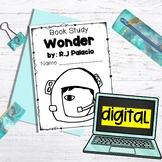 Google Classroom Wonder Novel Study