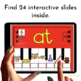 Google Classroom Word Families Practice: Pianos