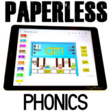 Google Classroom™ Activities Reading Phonics Practice (pianos)