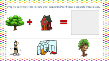 Google Classroom: Word Work- Compound Words