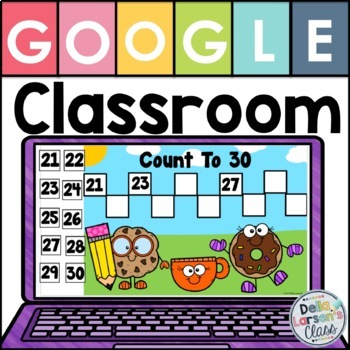 Google Classroom counting to 100 by1's and 10's